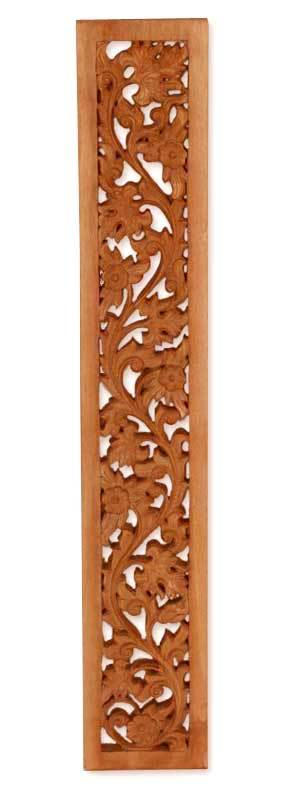 Wood wall panel, 'Wilderness' - Wood Relief Panel