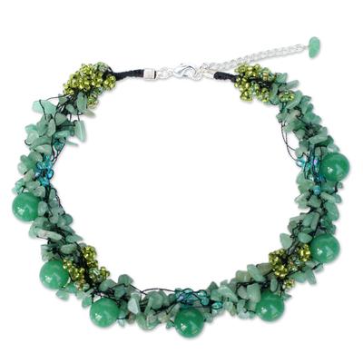 Artisan Crafted Quartz Necklace