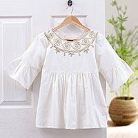 Cotton blouse, 'Sugar Chic'