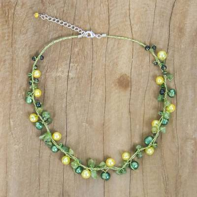 silverscape peridot necklace img designs products