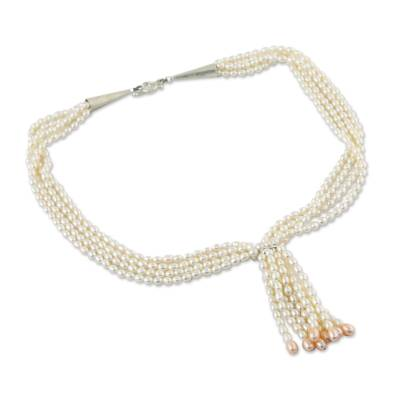 Cultured Pearl Multi Strand Necklace