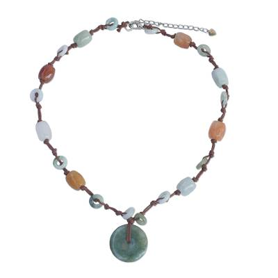 Handcrafted Jade Beaded Necklace