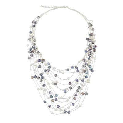 Fair Trade Bridal Pearl Strand Necklace