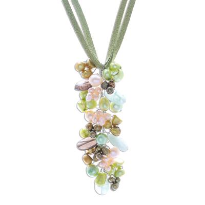 Fair Trade Pearl Pendant Necklace
