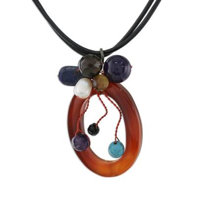 Handcrafted Agate Necklace