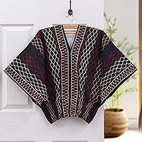 Cotton blouse, 'Lanna Pride' - Women's Geometric Patterned Top