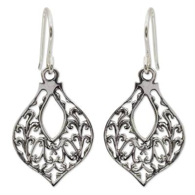 Handcrafted Sterling Silver Dangle Earrings
