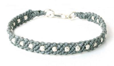 Fair Trade Fine Silver Braided Bracelet
