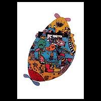 'Happy I' (2009) - Expressionist Print