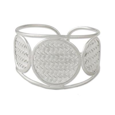 Hand Made Sterling Silver Cuff Bracelet