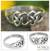 Sterling silver cocktail ring, 'Lover's Knot' - Fair Trade Sterling Silver Band Ring thumbail