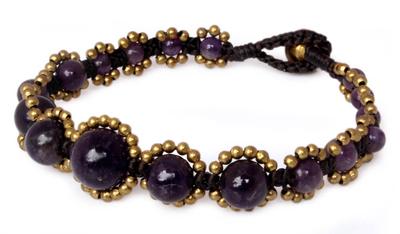 Amethyst Bracelet from Thailand