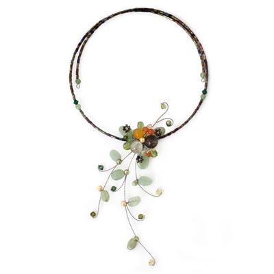 Aventurine Beaded Necklace