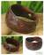Men's leather wristband bracelet, 'Ayutthaya Brown' - Men's Leather Wristband Bracelet (image 2) thumbail