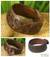 Men's leather wristband bracelet, 'Chiang Rai Paths' - Men's Hand Crafted Leather Wristband Bracelet (image 2) thumbail