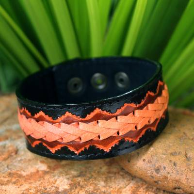 leather bracelet knotted bracelets best casual