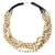 Citrine beaded necklace, 'Midnight Honey' - Beaded Citrine Necklace (image 2a) thumbail