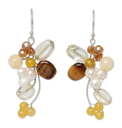 Handcrafted Citrine and Tiger