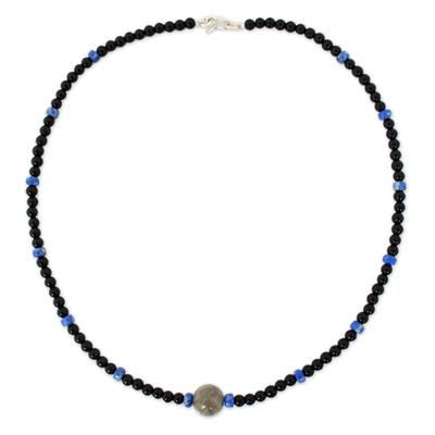 Handmade Onyx Necklace
