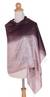 Silk shawl, 'Shimmering Raisin' - Silk Shawl (image 2c) thumbail