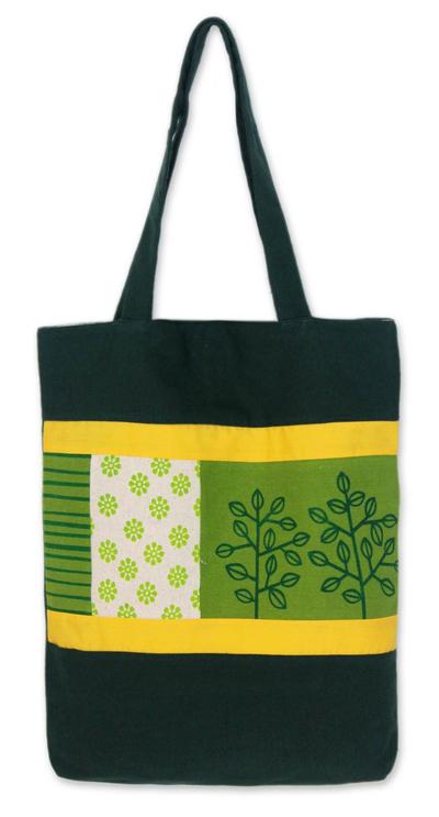 Handcrafted Cotton Tote Handbag