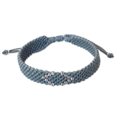 Hill Tribe Fine Silver Wristband Bracelet
