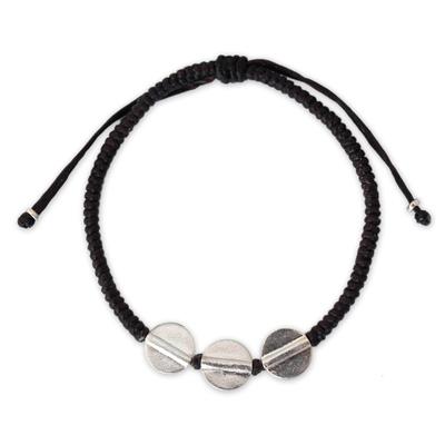 Unique Hill Tribe Fine Silver Braided Bracelet