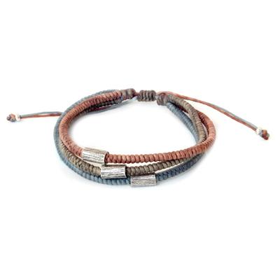 Hill Tribe Fine Silver Braided Bracelet