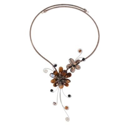 Handmade Smokey Quartz Multigem Necklace