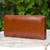 Leather wallet, 'Versatile Brown' - Leather wallet (image 2) thumbail