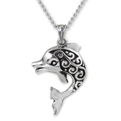 Artisan Crafted Silver Pendant Necklace