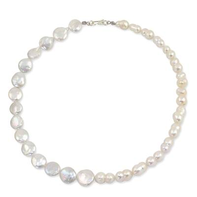 Cultured pearl strand necklace