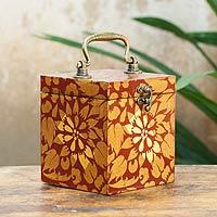 Wood jewelry box, 'Lady of Lanna' - Wood jewelry box