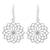 Sterling silver dangle earrings, 'Thai Sparklers' - Women's Sterling Silver Earrings from Thai Artisan Jewelry thumbail
