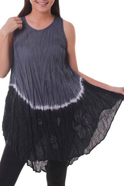 Cotton batik dress