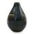 Celadon ceramic vase, 'Dragonfly Orchids' - Celadon Ceramic Vase Handcrafted in Green and Brown (image 2c) thumbail