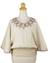 Cotton blouse, 'Cool Dawn' - Artisan Crafted Cotton Embroidered Cream Blouse (image 2a) thumbail