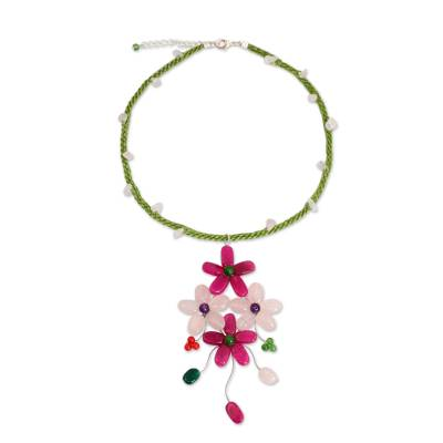 Fair Trade Jewelry Artisan Crafted Beaded Necklace