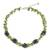 Cultured pearl and peridot beaded necklace, 'Heaven's Gift' - Handmade Pearl and Peridot Beaded Necklace thumbail