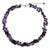 Amethyst and garnet beaded necklace, 'Heaven's Gift' - Thai Handmade Amethyst Necklace with Garnet Clusters (image 2a) thumbail