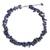 Lapis lazuli and cultured pearl beaded necklace, 'Heaven's Gift' - Thai Handmade Lapis Lazuli Necklace with Pearl Clusters (image 2a) thumbail