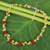 Peridot and carnelian beaded necklace, 'Heaven's Gift' - Thai Handmade Carnelian Cluster Peridot and Quartz Necklace (image 2) thumbail