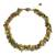 Peridot and unakite beaded necklace, 'Green Glam' - Fair Trade jewellery Peridot and Unakite Necklace (image 2a) thumbail