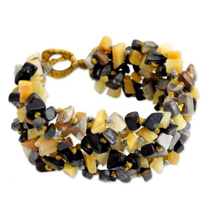 Artisan Crafted Bracelet Jasper Beaded Jewelry