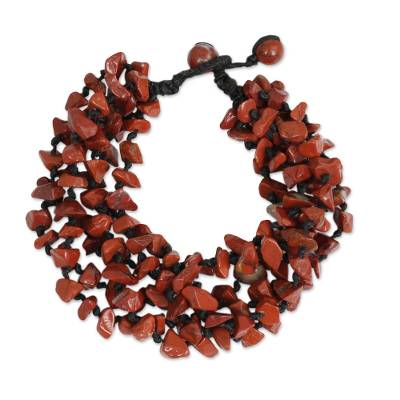 Fair Trade Handcrafted Gemstone Beaded Necklace