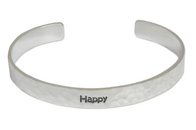 Inspirational Silver Bracelet from Thailand