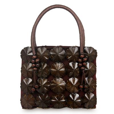 Fair Trade Handbag Handcrafted from Coconut Shells