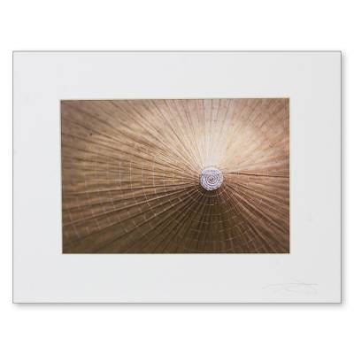 'Vietnamese Farmer's Hat' - Signed Color Photograph Print of Vietnamese Farmer's Hat