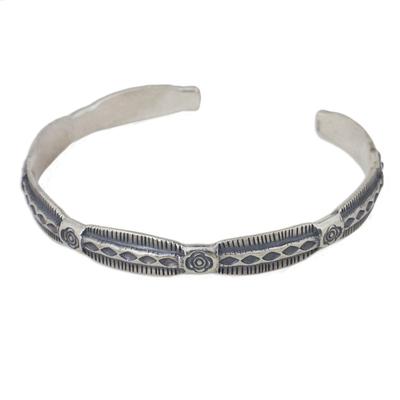 Handmade Silver Cuff Bracelet from Thailand