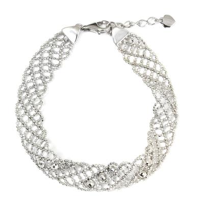 Sterling Silver Five-Strand Braid Bracelet